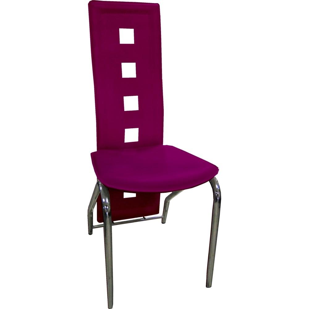Jídelní židle F060 fialová