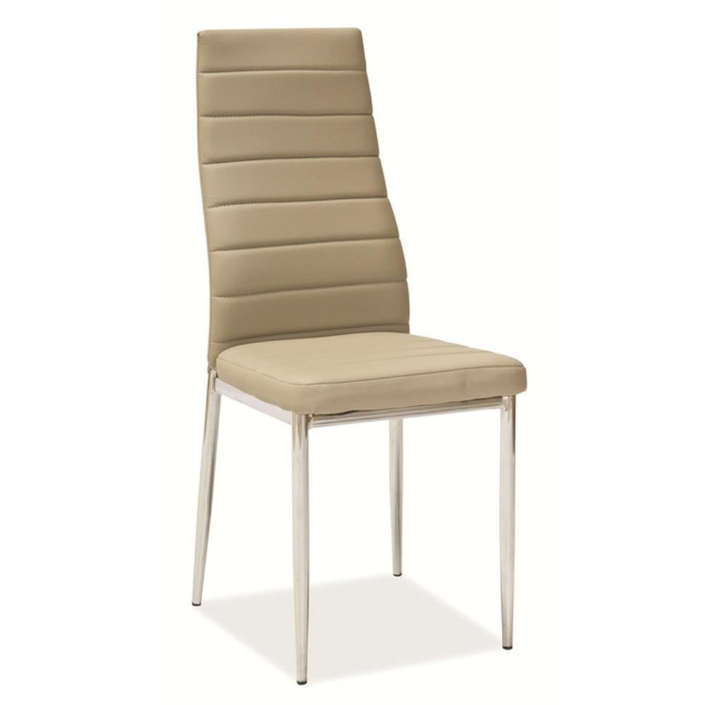 Jídelní židle F062 latte
