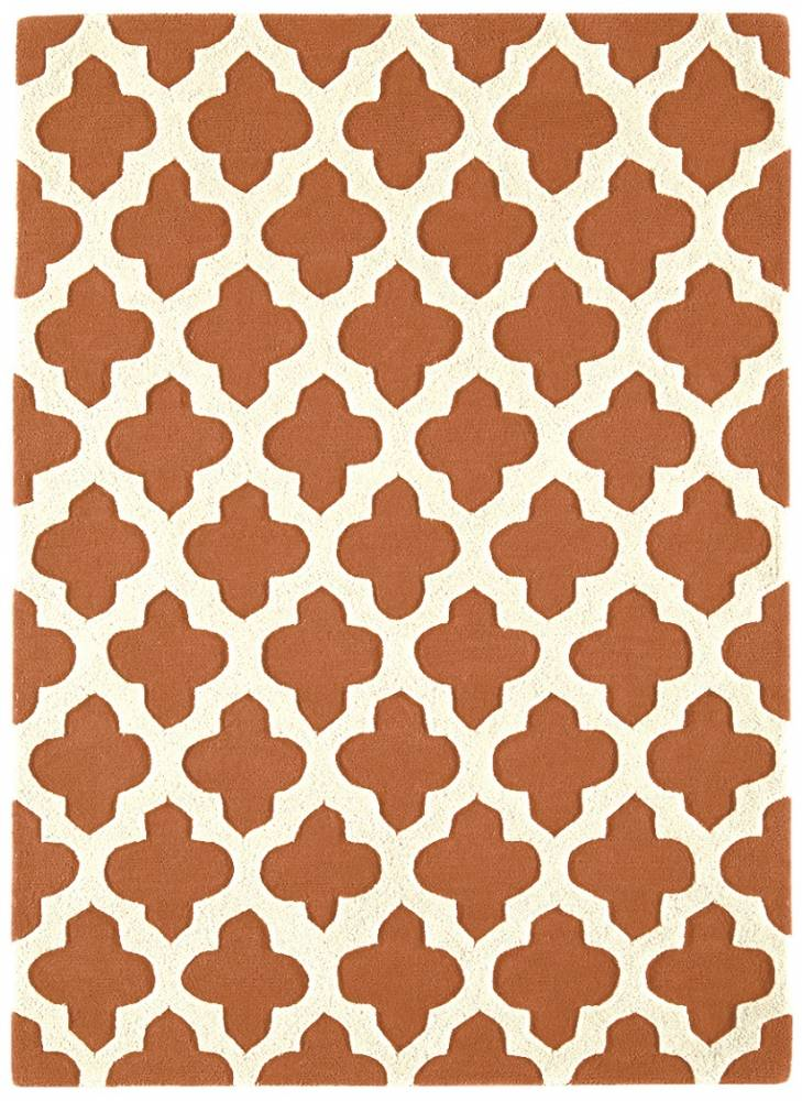Masiv24 - Artisan koberec 160x230cm - terakotová 03