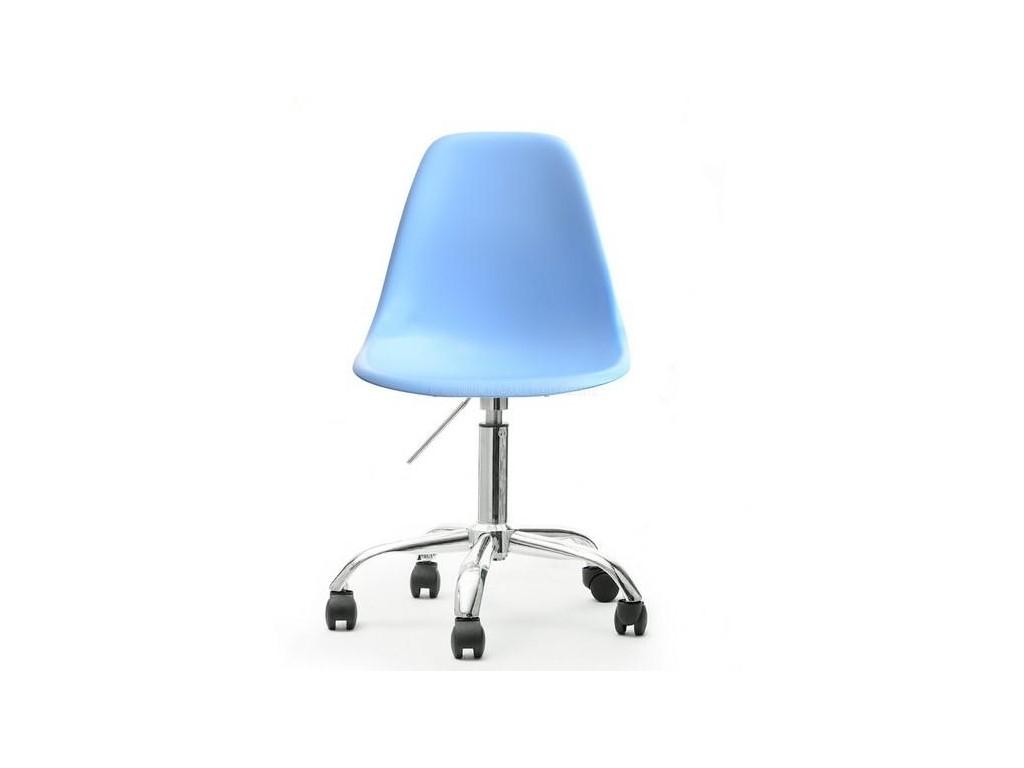 design4life Otočná židle MOBI modrá