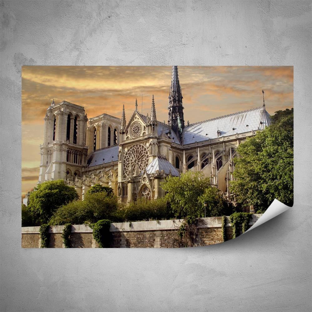Plakát - Notre Dame (60x40 cm)