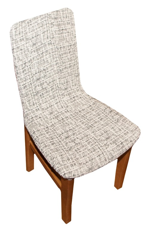 Forbyt, Potah elastický na židle, Andrea bíločerná komplet 2 ks