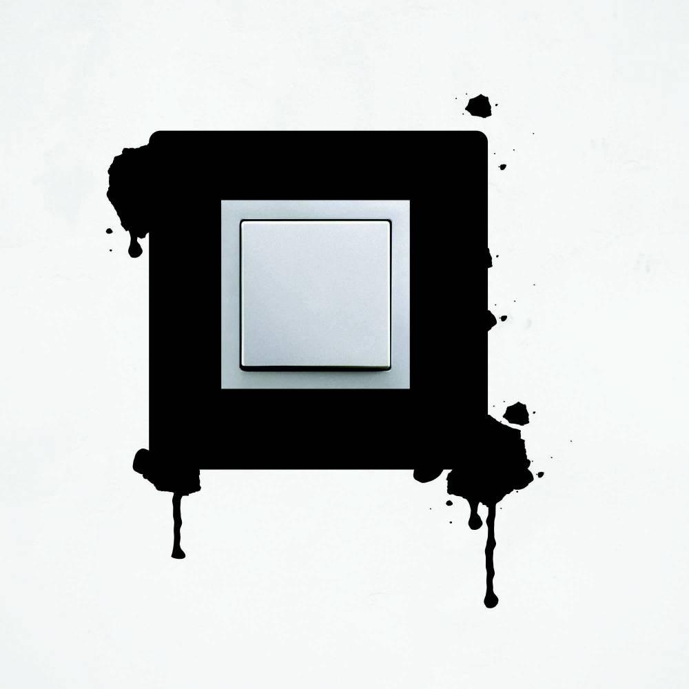 Samolepka na vypínač - Skvrny
