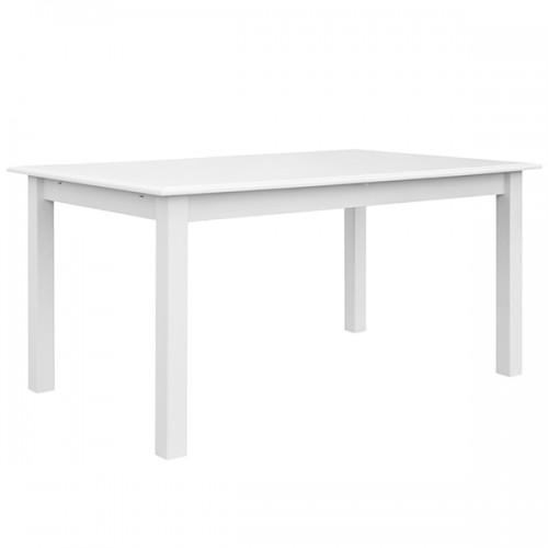 Bílý nábytek Jídelní stůl Belluno Elegante, bílý, masiv, borovice 327770844