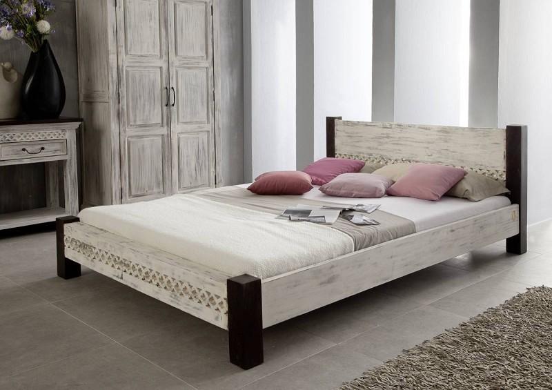 Masiv24 - ANTIK postel 160x200 mango, akát