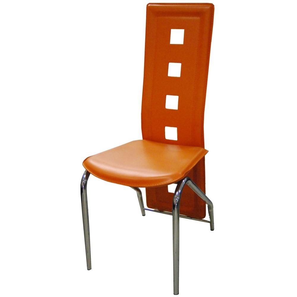Jídelní židle F060 oranžová