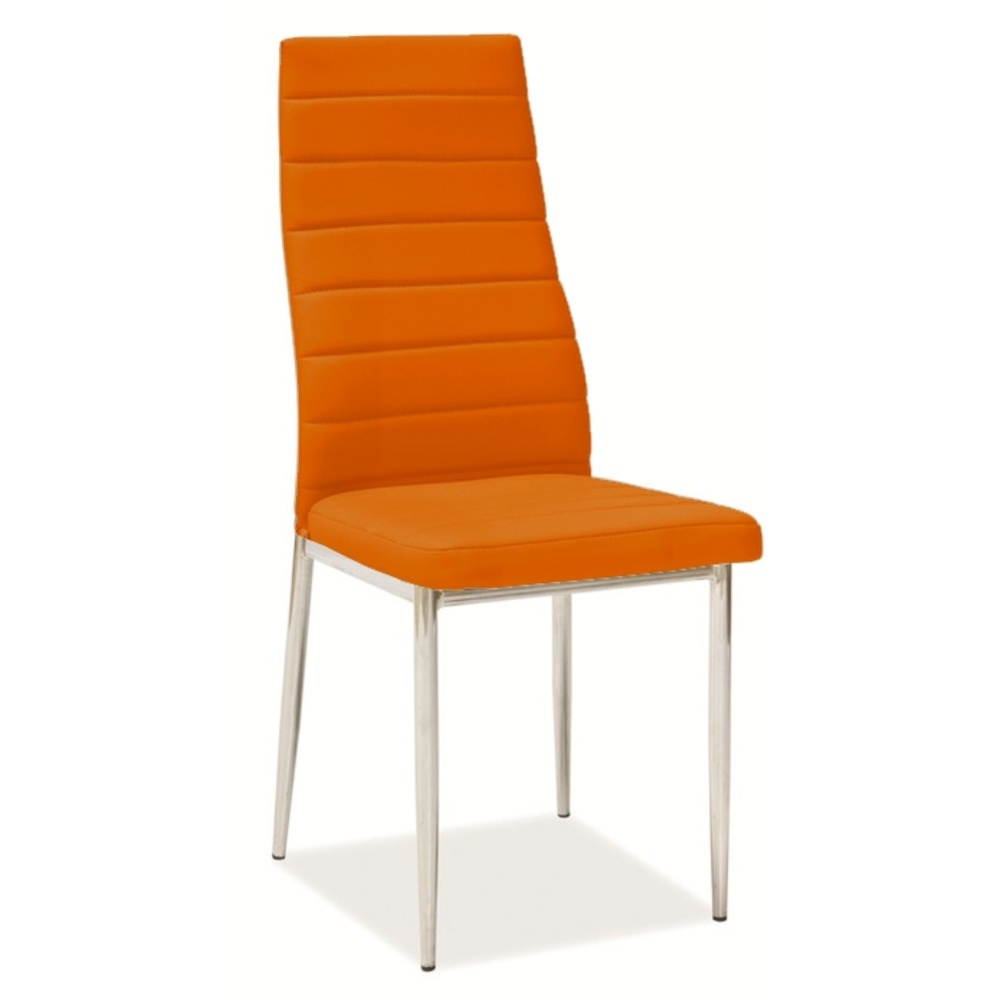 Jídelní židle F062 oranžová