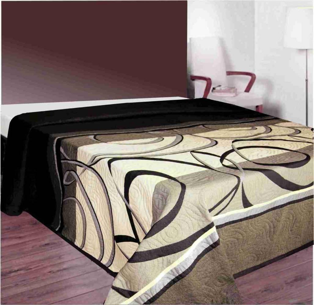 Forbyt  Přehoz na postel, Madeiras, hnědý 140 x 220 cm