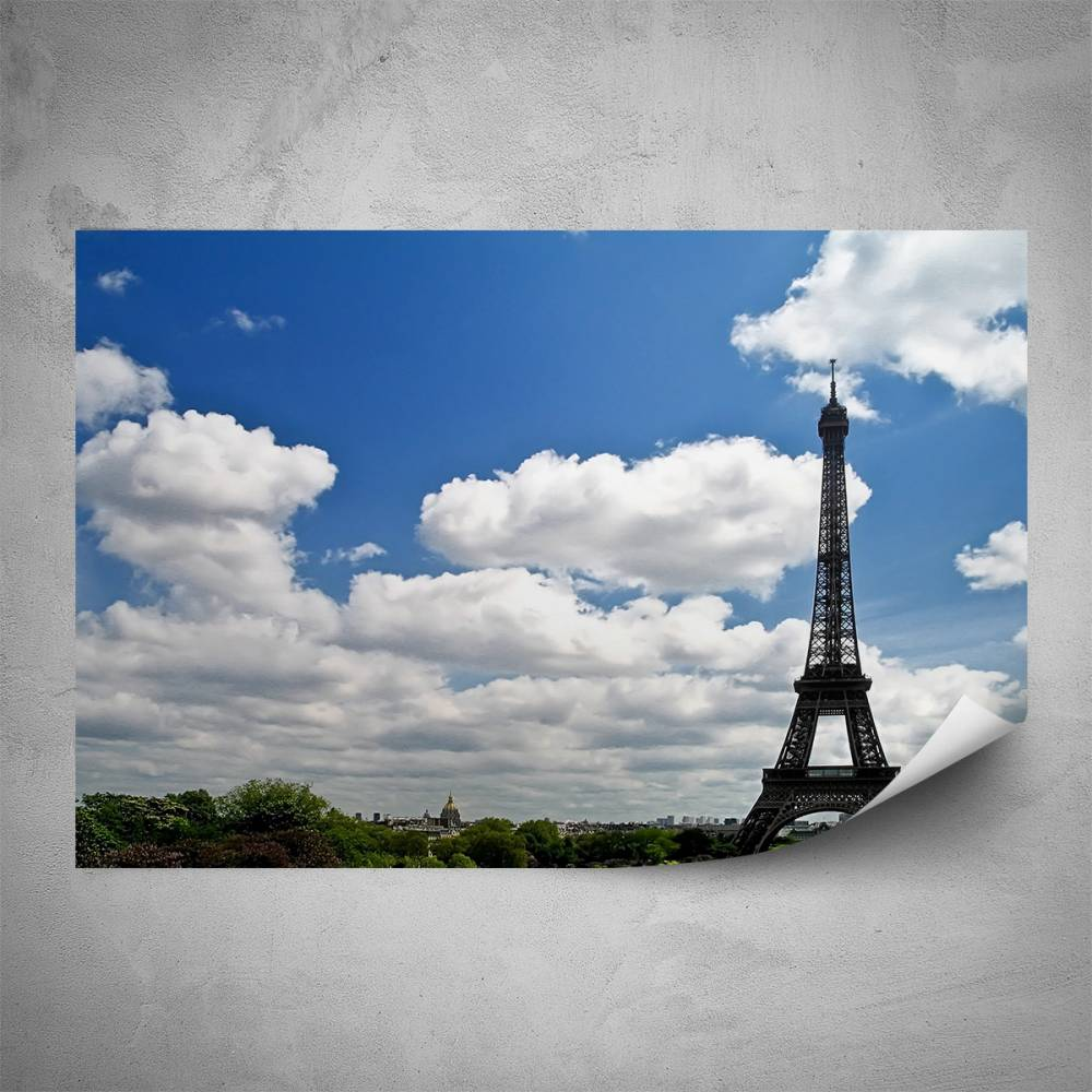 Plakát - Symbol Paříže (60x40 cm)