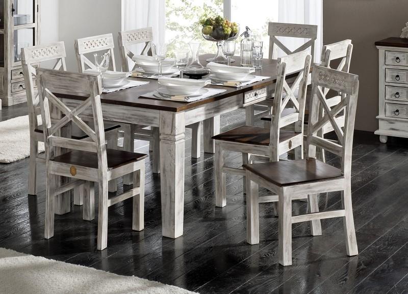 Masiv24 - ANTIK jídelní stůl mango 90x90 cm
