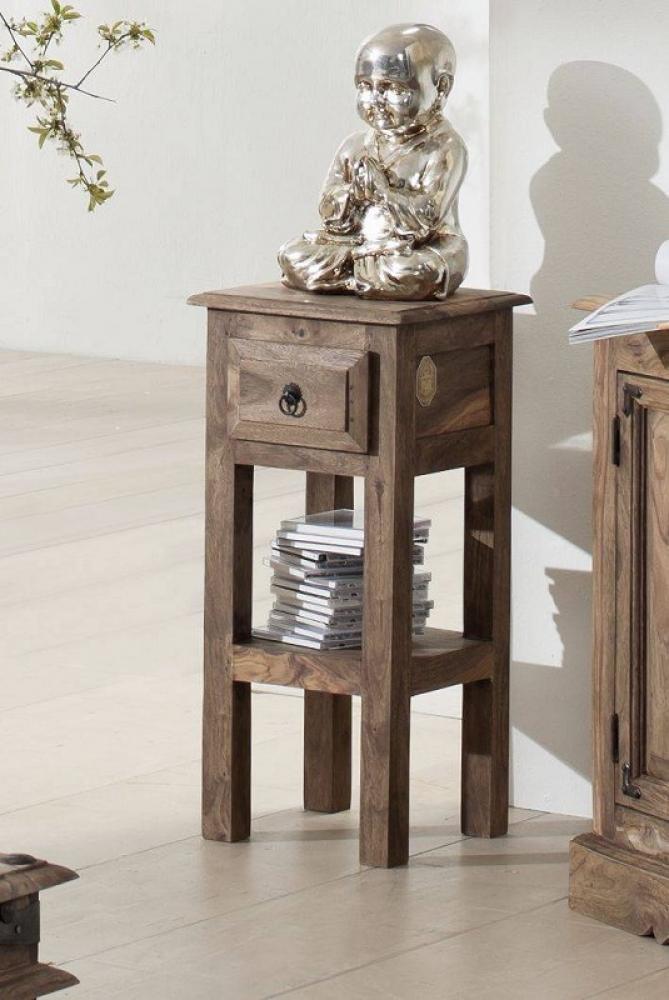 Masiv24 - CASTLE příruční stolek olejovaný palisandr