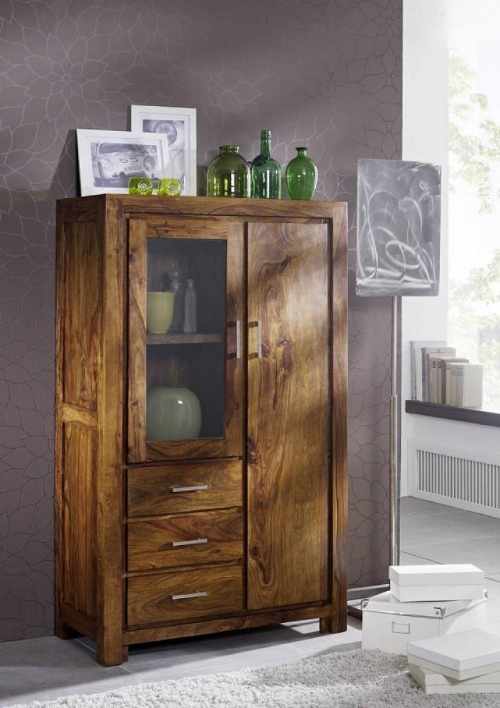 Masiv24 - Sheesham skříň, masivní palisandrové dřevo DAKOTA