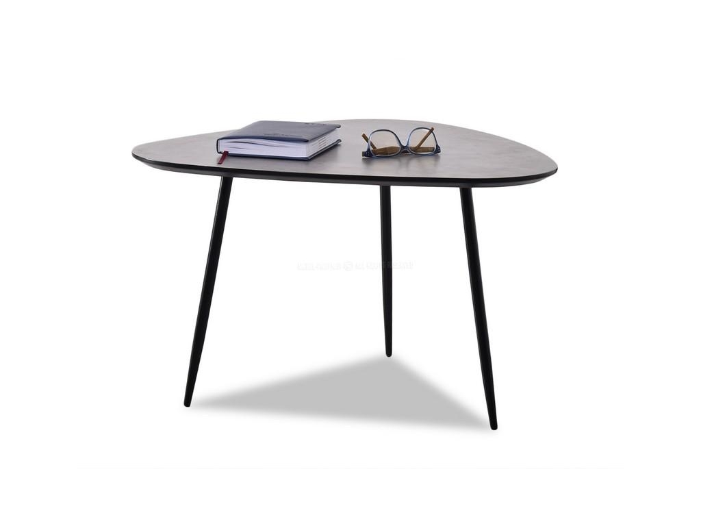 design4life Konferenční stolek COLOF XL beton-černá