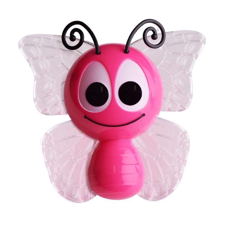 Dětské svítidlo do zásuvky Motýlek