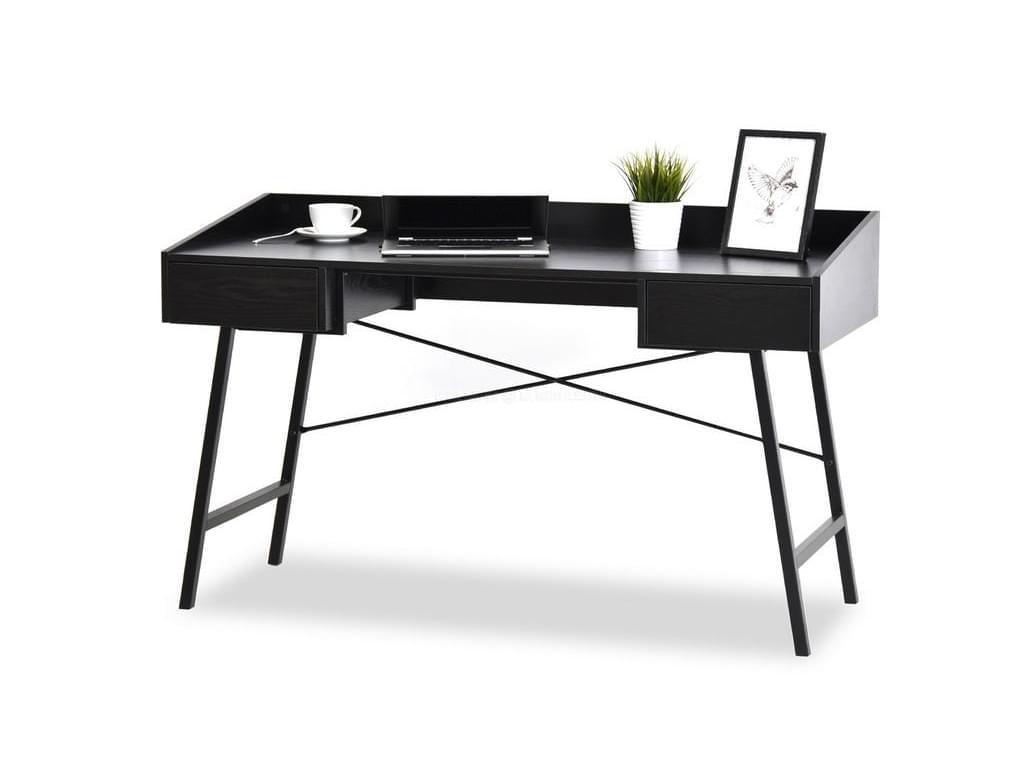 design4life Designový psací stůl VELES černá