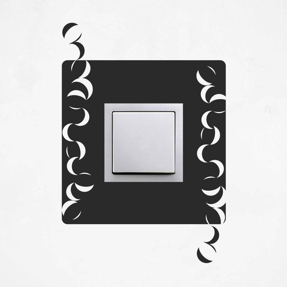 Samolepka na vypínač - Abstrakce