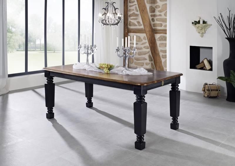 Masiv24 - KOLONIAL jídelní  stůl 240x100cm lakovaný palisandr
