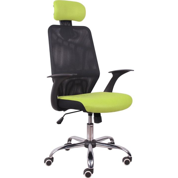 Kancelářská židle v jednoduchém moderním provedení zelená REYES