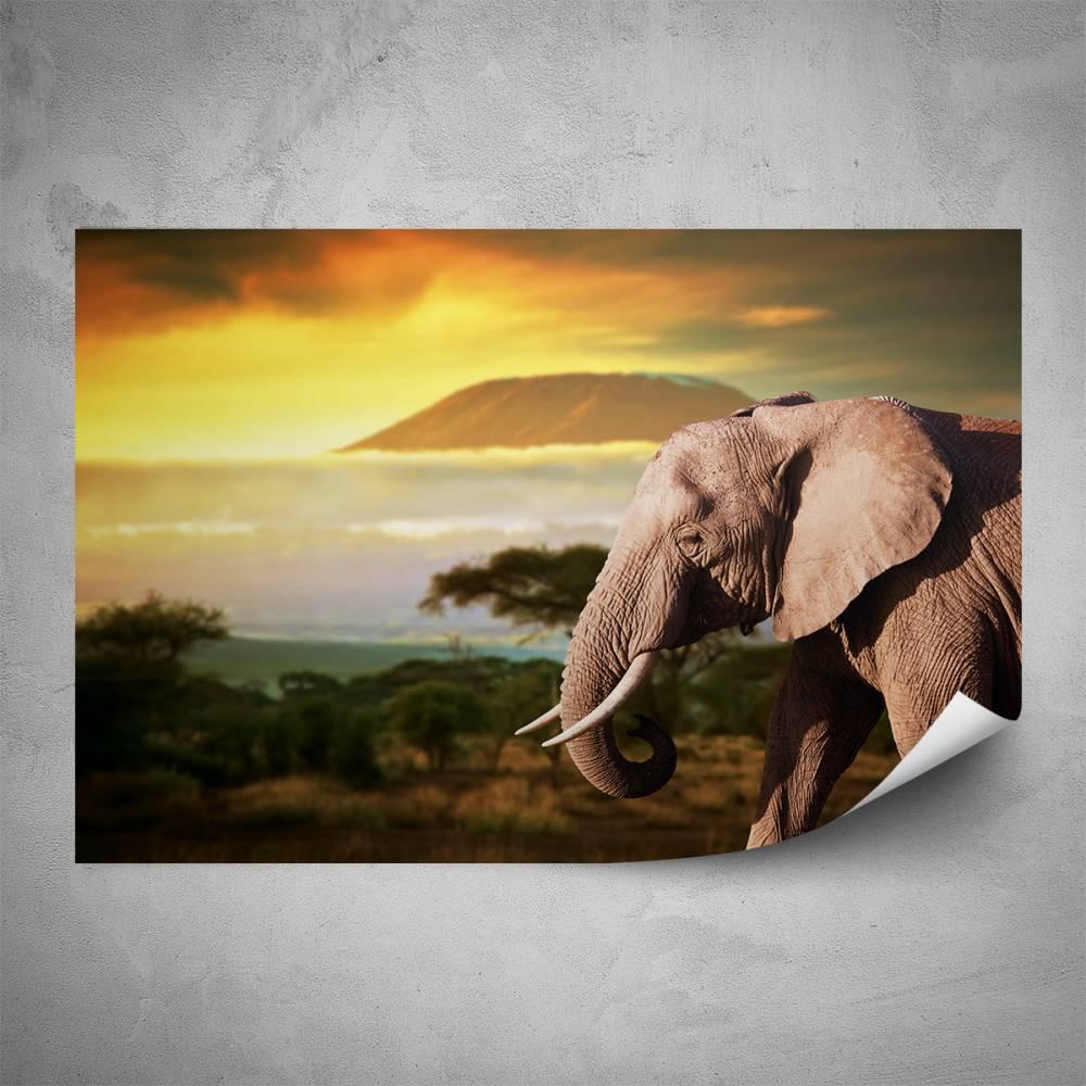 Plakát - Kilimandžáro (60x40 cm)