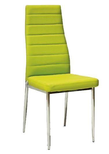 Jídelní židle F062 zelená