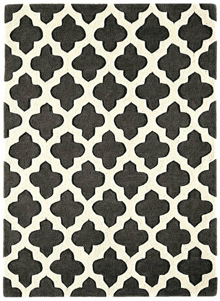 Masiv24 - Artisan koberec 120x170cm - tmavošedá 02