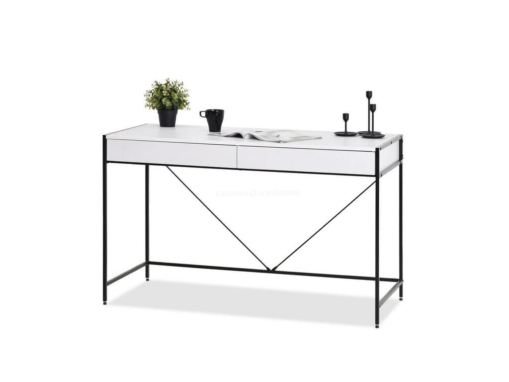 design4life Designový psací stůl FORME bílá-černá