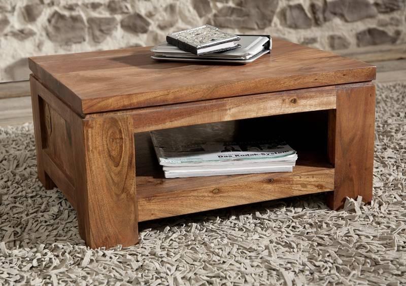 Masiv24 - KOLINS noční stolek akát, medová