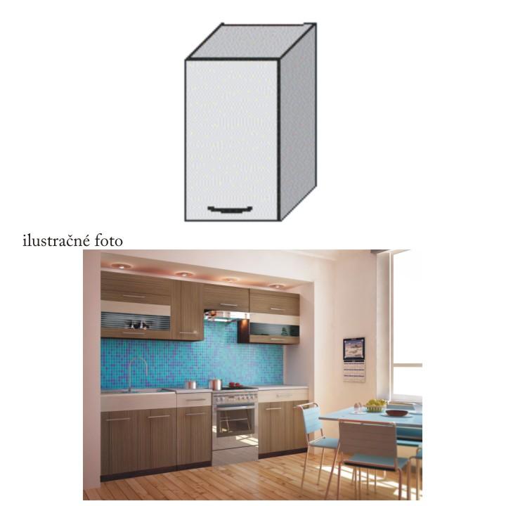 Kuchyňská skříňka, rigoleto dark, JURA NEW I G-40