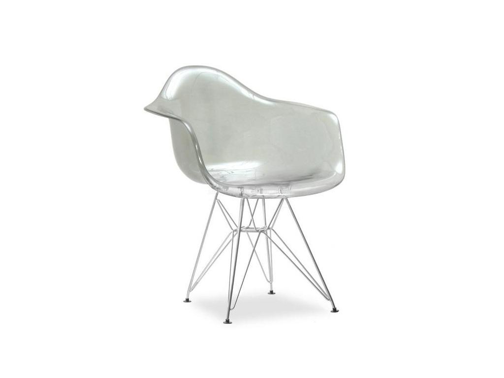 design4life Křeslo MERLOTE  - kovová podnož