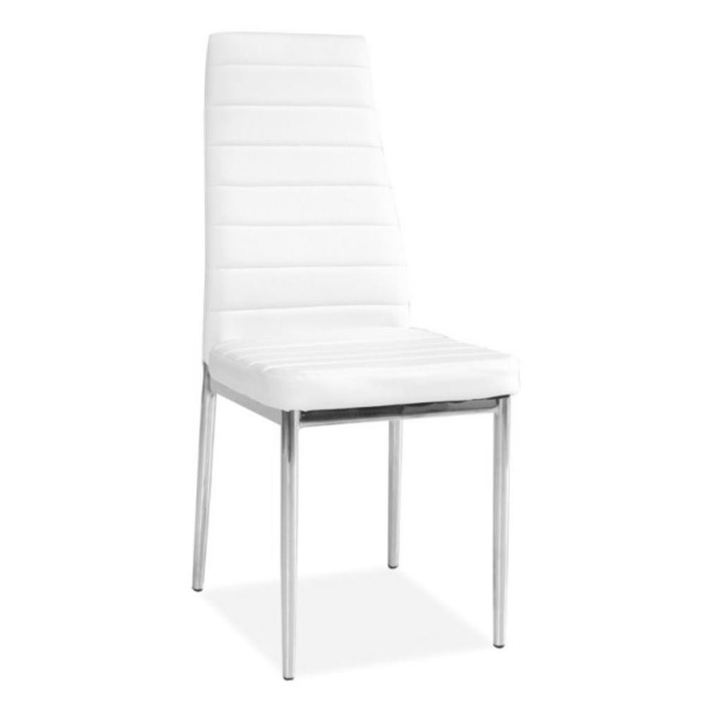 Jídelní židle F062 bílá