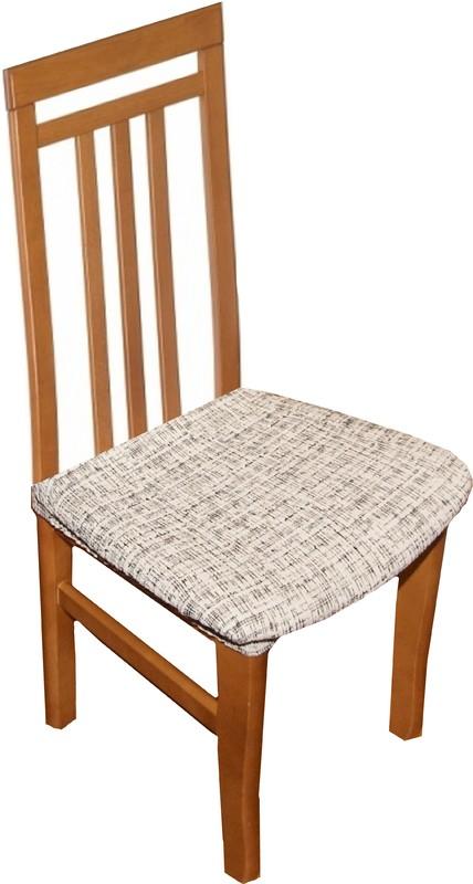 Forbyt,  Potah elastický na sedák židle, Andrea bíločerná komplet 2 ks