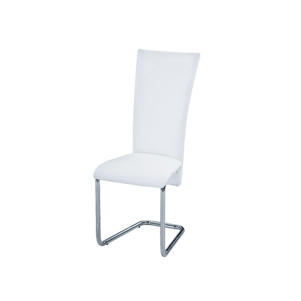 Jídelní židle F064 bílá