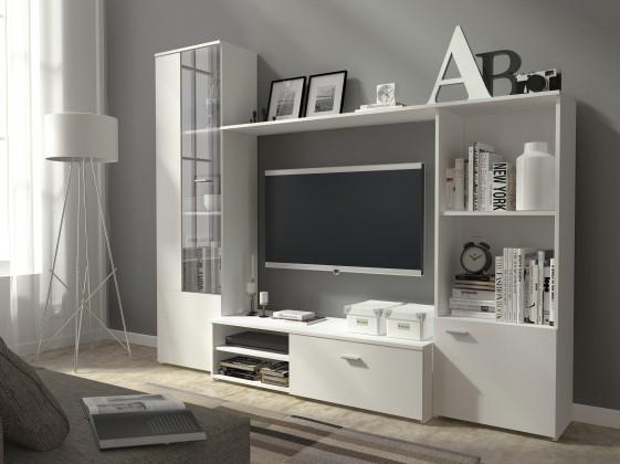 Hugo - Obývací stěna (bílá)