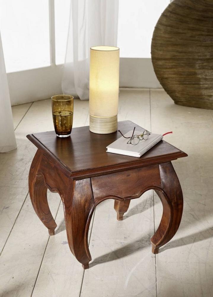 Masiv24 - ORIENT noční stolek akát, nugátová