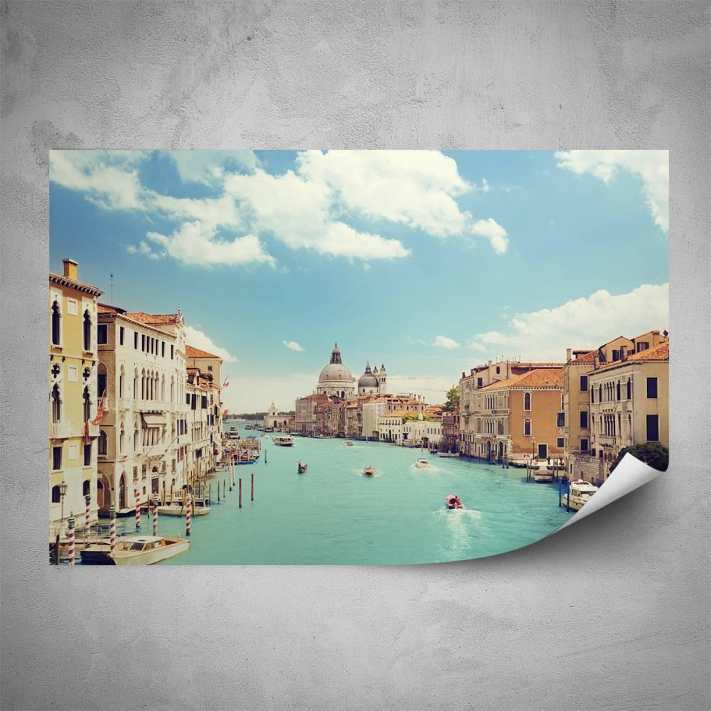 Plakát - Benátky (60x40 cm)