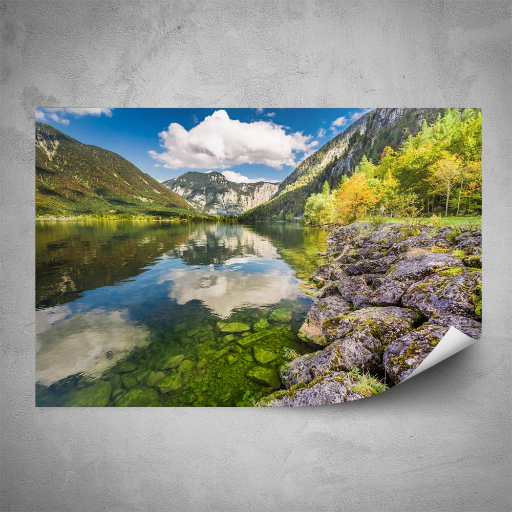 Plakát - Relax v horách (60x40 cm)