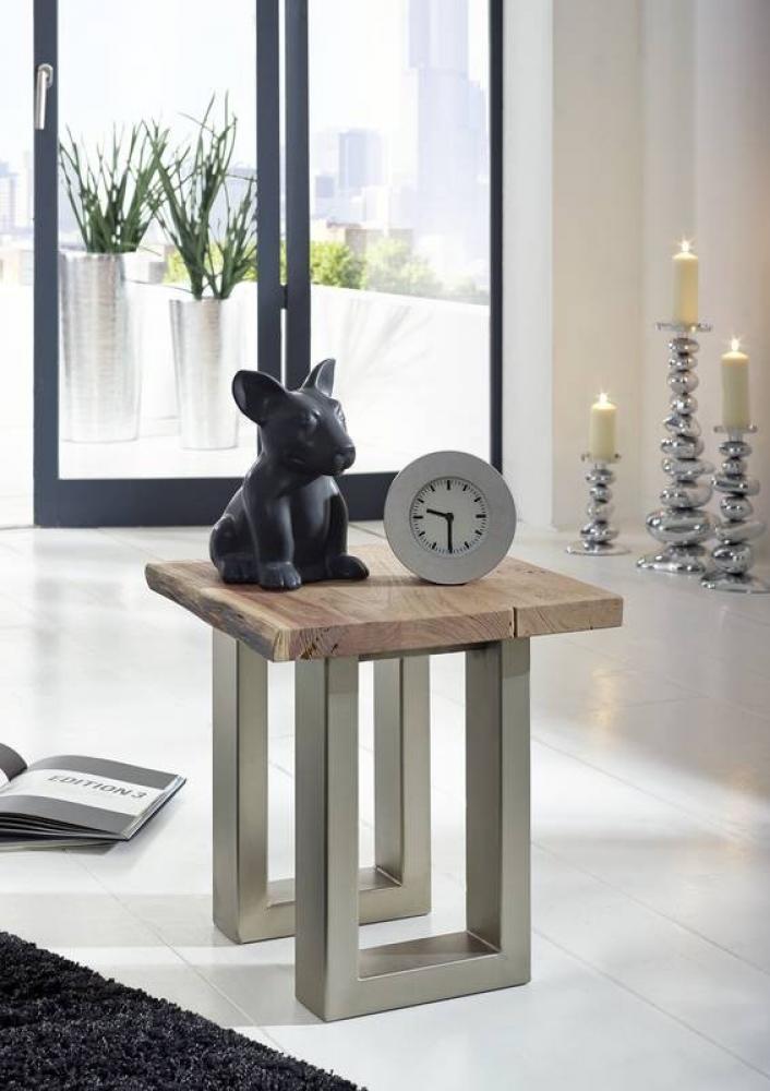 Masiv24 - METALL noční stolek akátový nábytek