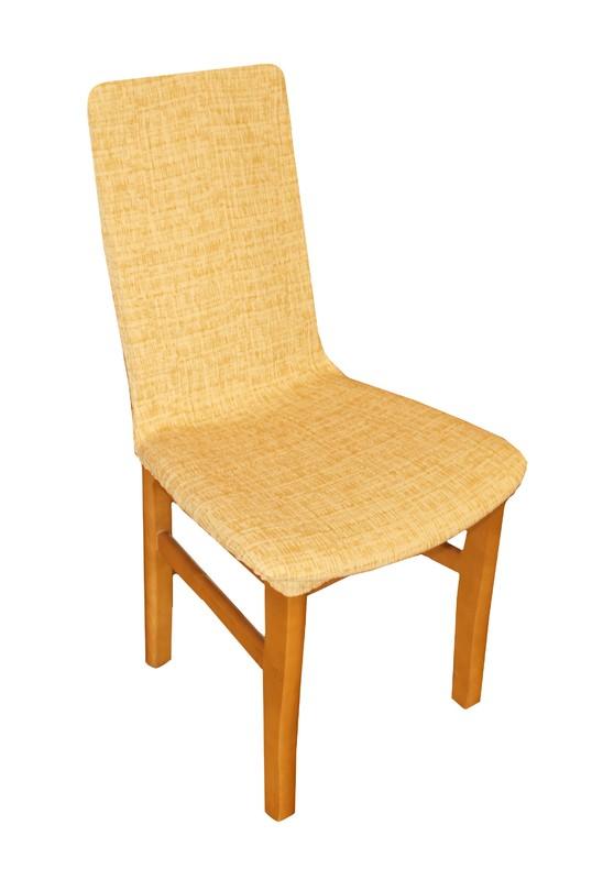 Forbyt, Potah elastický na židle, Andrea žlutá komplet 2 ks