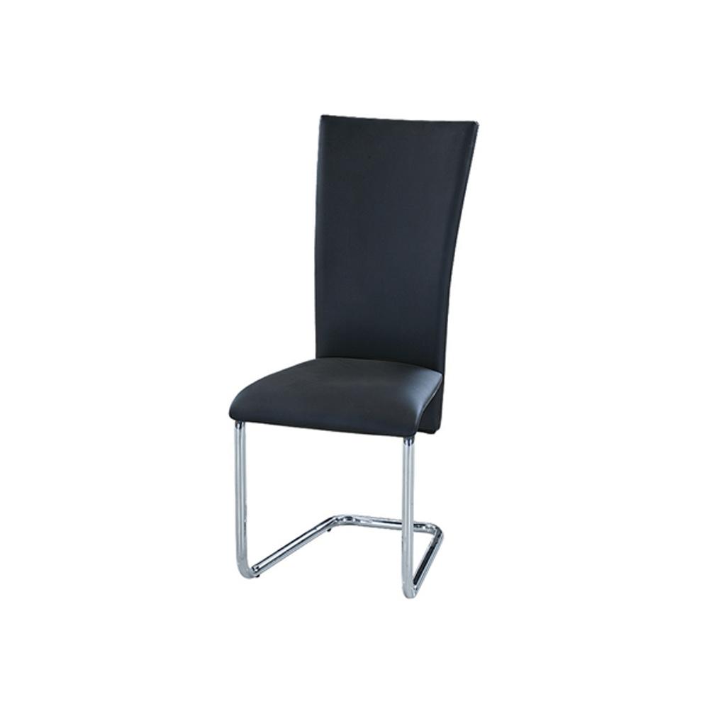 Jídelní židle F064 černá