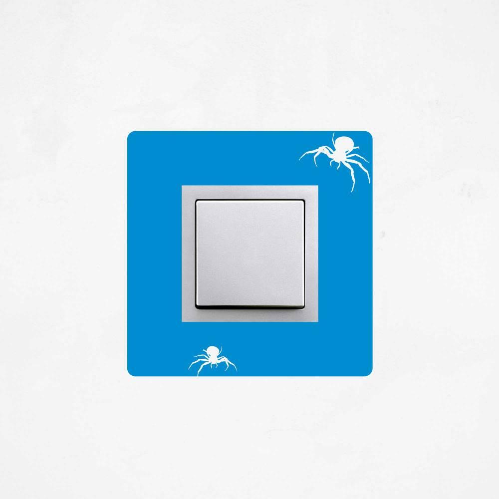 Samolepka na vypínač - Pavouk