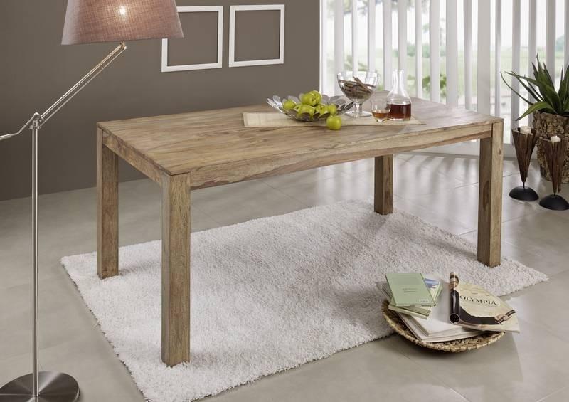 Masiv24 - NATURAL jídelní stůl 140x90 přírodní olejovaný indický palisandr