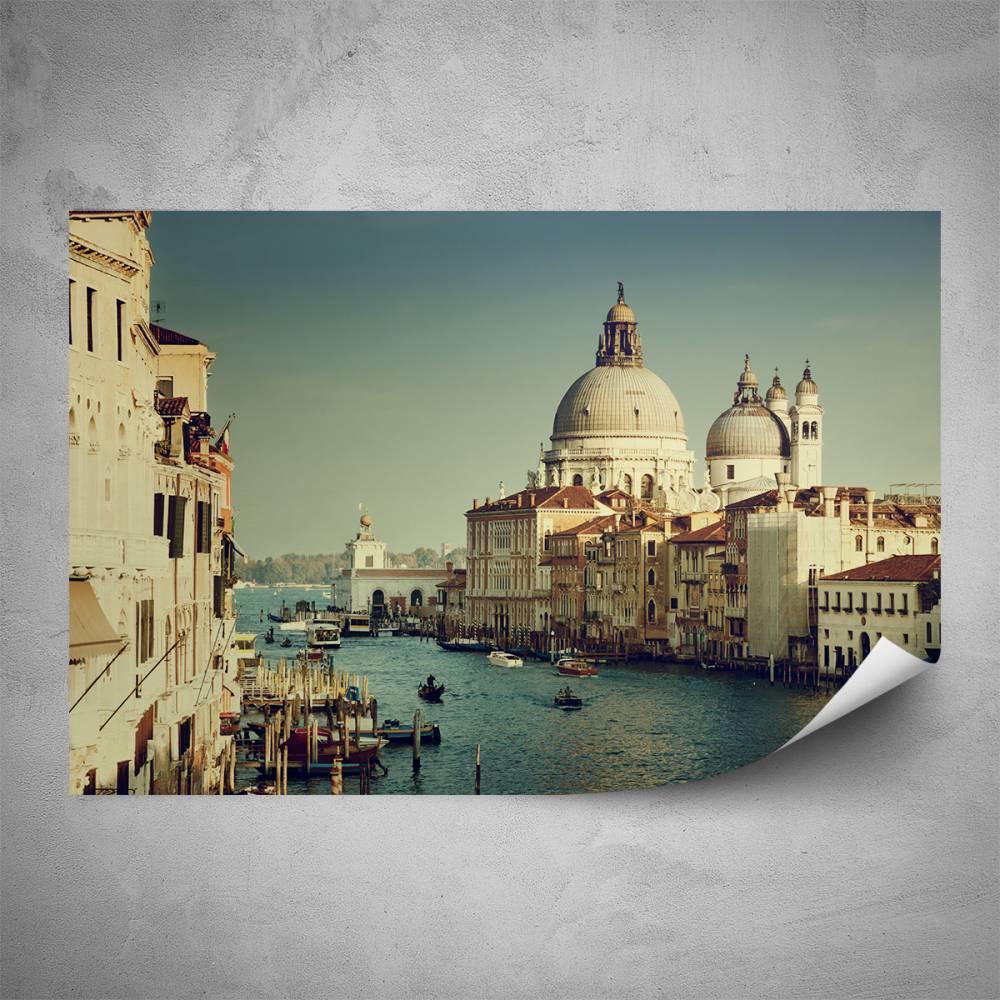 Plakát - Atmosféra Benátek (60x40 cm)