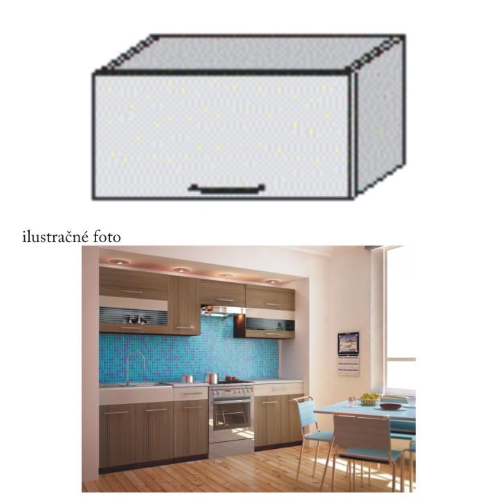 Kuchyňská skříňka, rigoleto dark, JURA NEW I OG-60