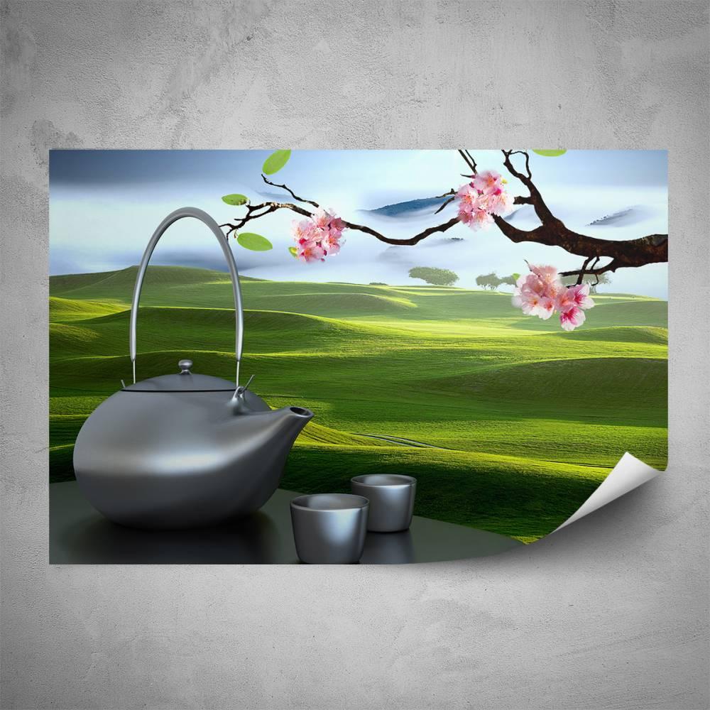 Plakát - Čajový dýchánek (60x40 cm)