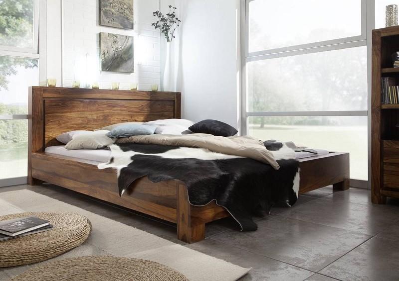 Masiv24 - Masivní indický palisandr, postel 140x200 DAKOTA