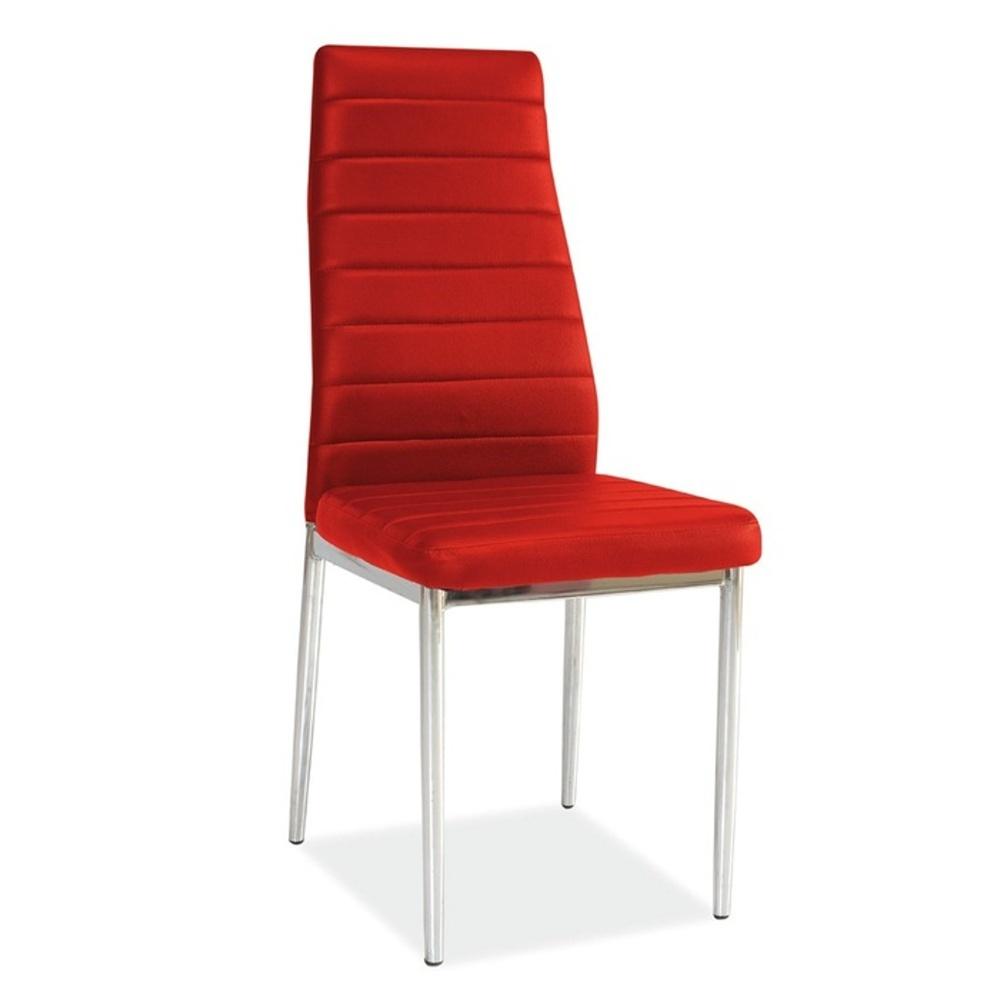 Jídelní židle F062 červená
