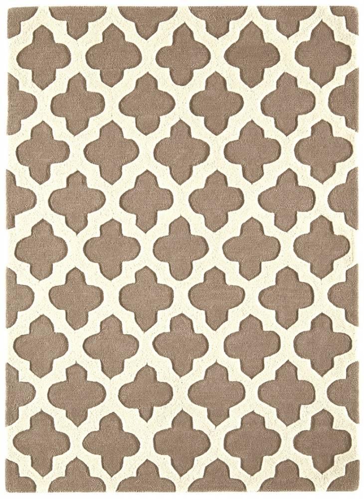 Masiv24 - Artisan koberec 120x170cm - sivobéžová 01