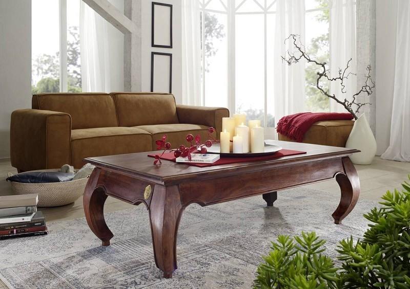 Masiv24 - ORIENT konferenční stolek akát, nugátová 135cm
