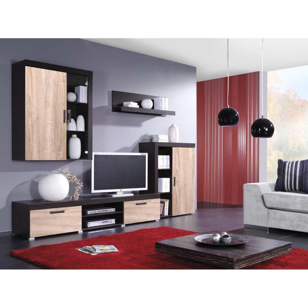 Obývací stěna F013 sonoma