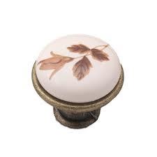Úchyt knoflík porcelán GP19-2 pro kuchyňskou skříňku